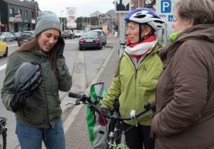 Ecolo roule (à vélo) pour le climat … et le climat le lui rend bien !!!